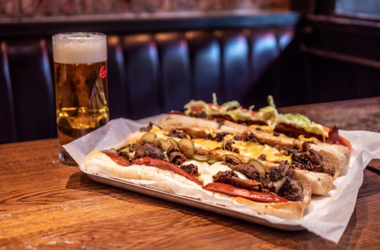 Philly Cheesesteak Red Dog Saloon