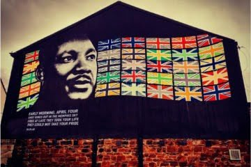 Martin Luther King Jr Mural New Brighton