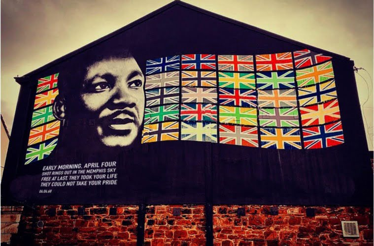 Martin Luther King JR Mural Unveiled In New Brighton