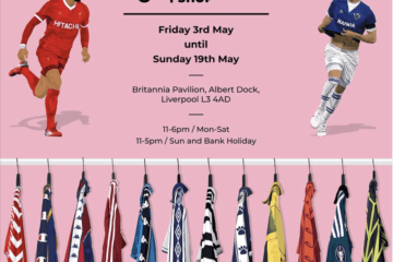 The world's largest collection of original football shirts is coming to Royal Albert Dock Liverpool