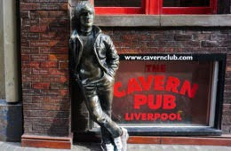 Liverpool's Most Famous Statues Are Wearing Bowling Shoes And Here's Why 1