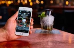 The Alchemist reveals secret cocktails with Augmented Reality menu