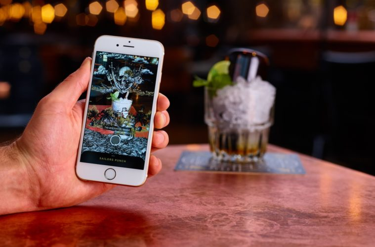 The Alchemist reveals secret cocktails with Augmented Reality menu