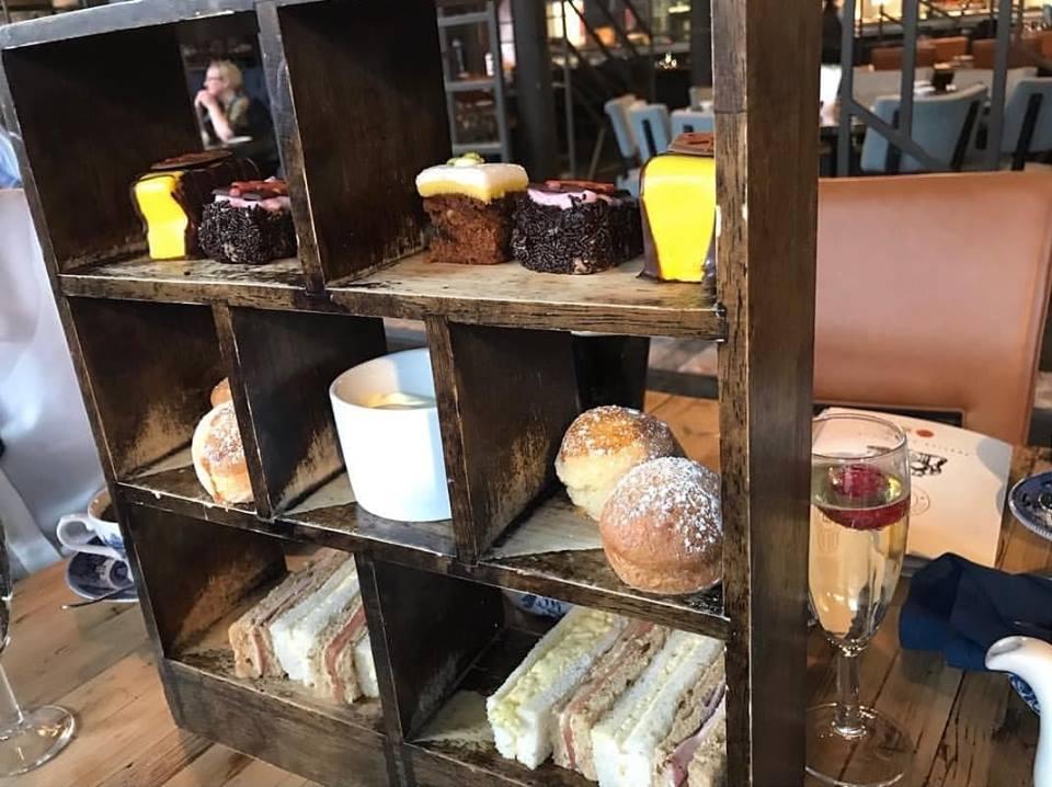 Titanic Hotel afternoon tea