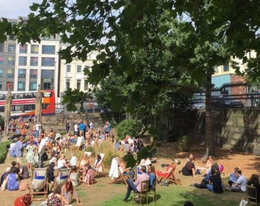 The Gin Party at The Bombed Out Church Is Back This Summer