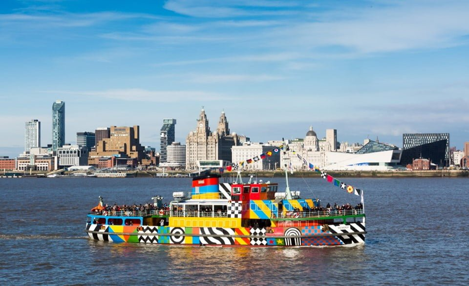 Ferry Across The Mersey Liverpool