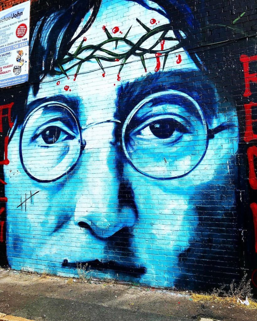 John Lennon Mural Photo by @saturnmoons19