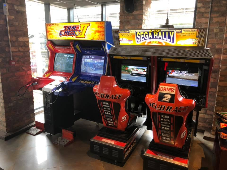 Dough Bar Liverpool Game Arcade