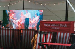 Royal Albert Dock Floating Cinema Halloween