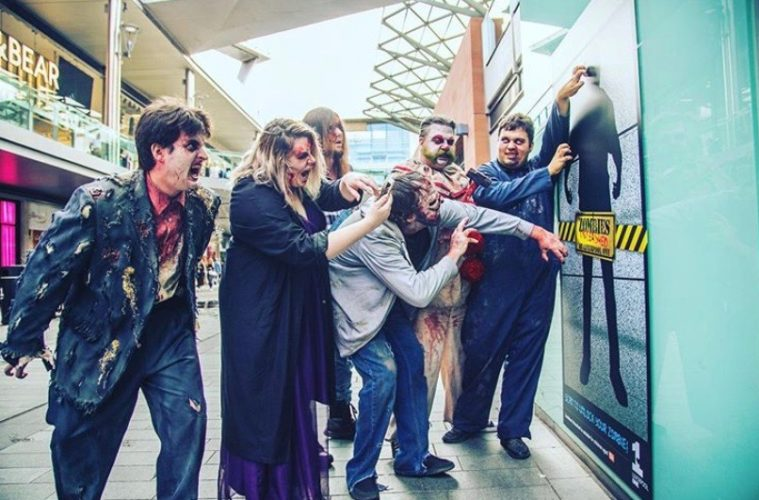 Zombies Unleashed Liverpool One