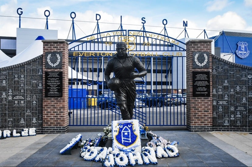 Everton Goodison Park Dixie Dean By GlamGigPics