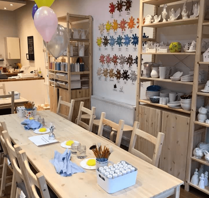 Frankie's Paint It Pottery Liverpool