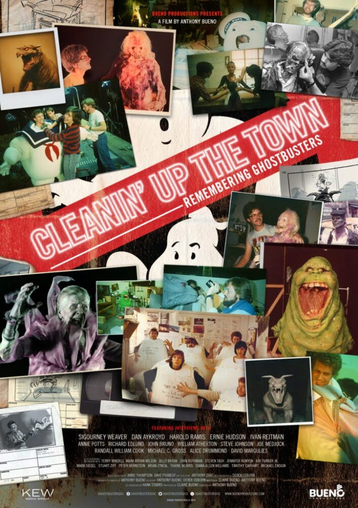 CLEANIN' UP THE TOWN- REMEMBERING GHOSTBUSTERS